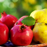 photodune-1177114-pomegranates-and-quince-fruits-xs
