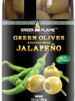 green olives with jalapeno